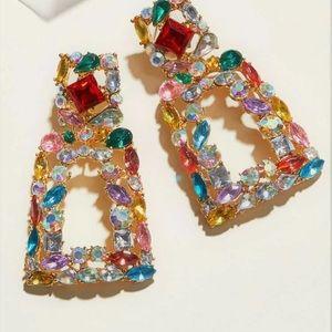 Gorgeous multicolor earrings